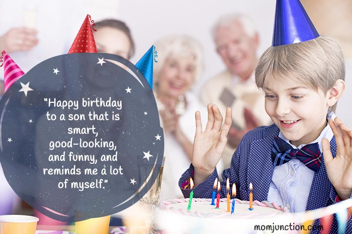 Funny Birthday Wishes for Son