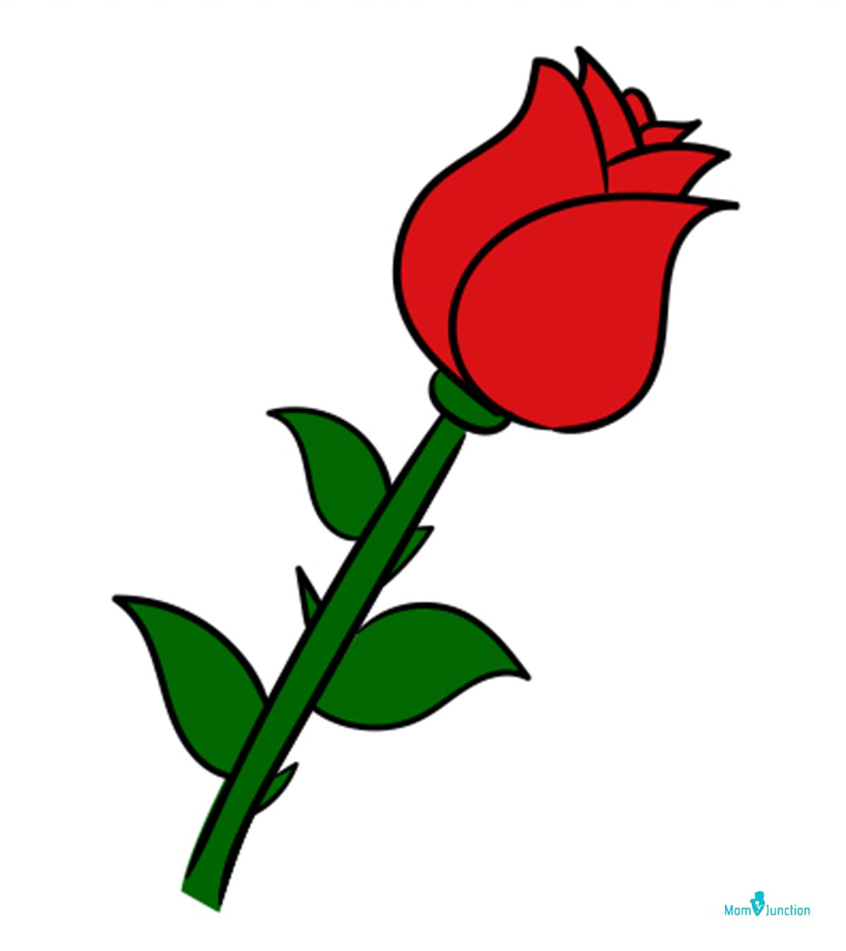 How To Draw A Rose Easy Step By Step Guide