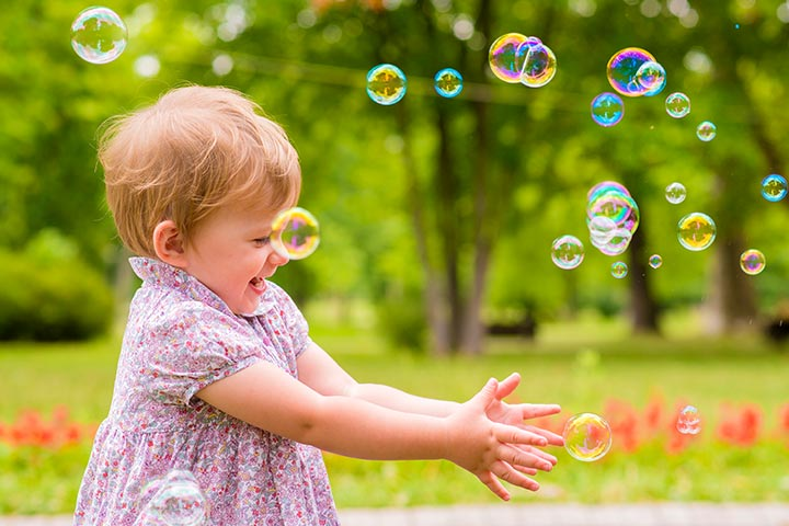 Bubble Smash For 1St Birthday Party