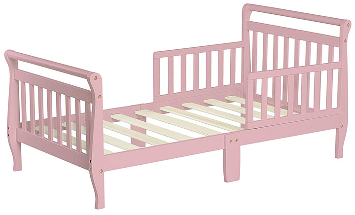Classic Sleigh Toddler Bed By Dream On Me