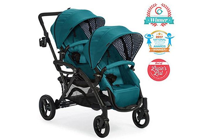 Contours Options Elite Tandem Double Baby & Toddler Stroller