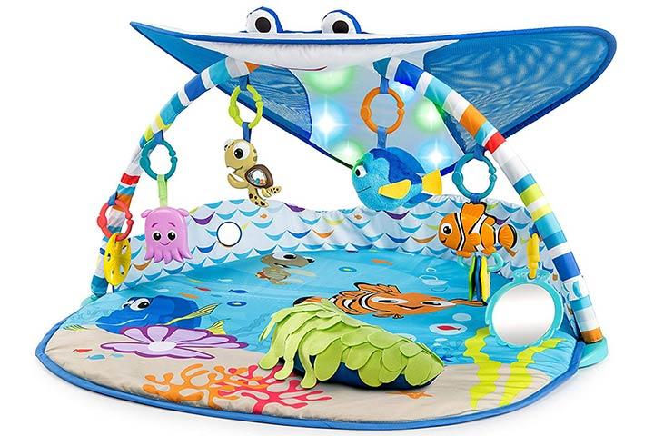 Disney Baby Mr. Ray Ocean Lights Activity Gym