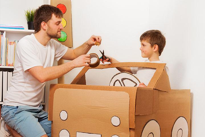 1st Birthday Parent kids craft game