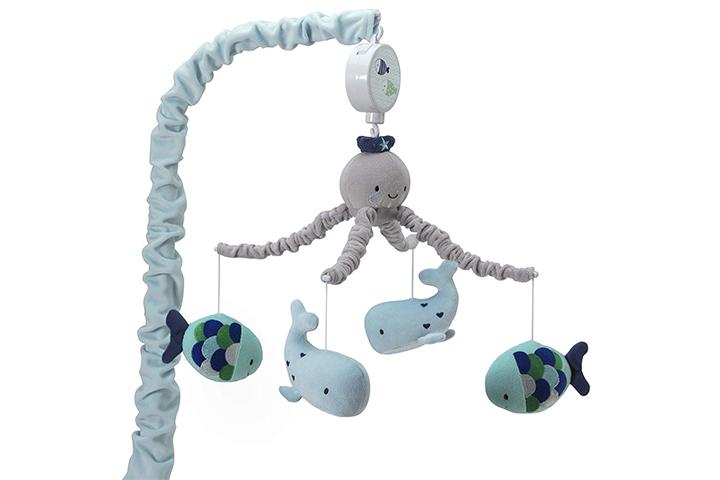 Lambs & Ivy Oceania Musical Nursery Crib Mobile