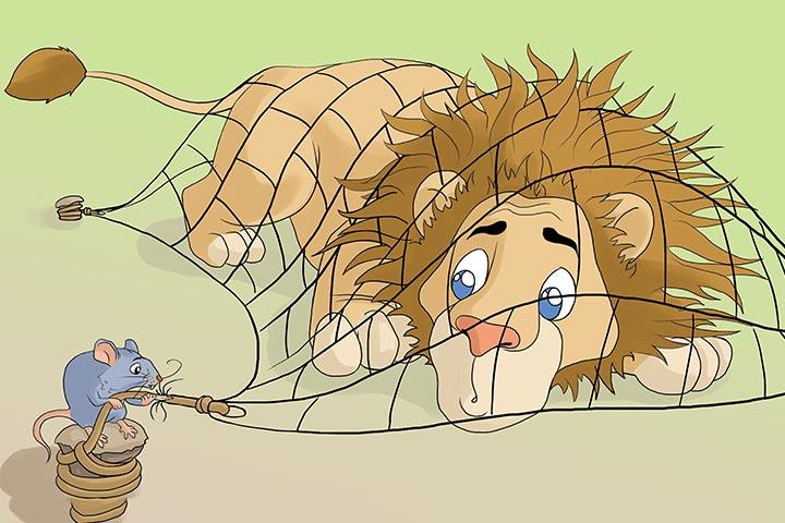 Lion, rat story