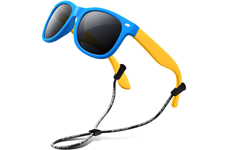 Rivbos Rubber Polarized Sunglasses