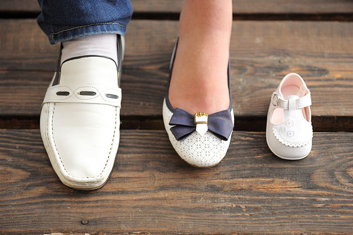 Tiny baby shoes