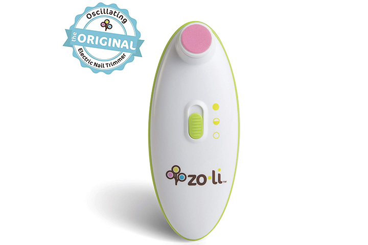 ZoLi BUZZ B Electric Baby Nail Trimmer