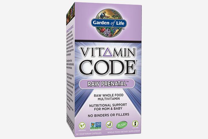 Garden Of Life Vitamin Code Raw Prenatal Multivitamin