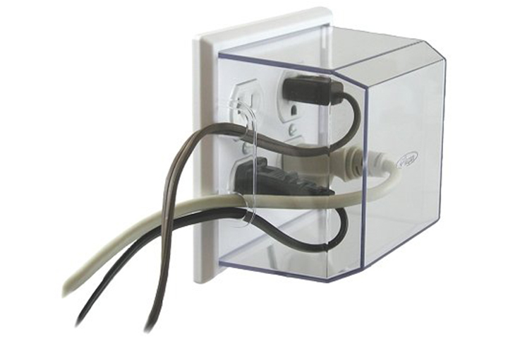 LectraLock Duplex Style Outlet Cover