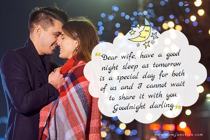 good night messages to my wife