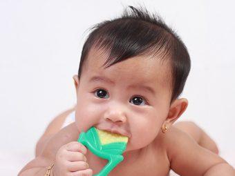 बच्चों के दांत निकलने की उम्र, लक्षण व उपाय | Bachon Ke Dant Nikalna
