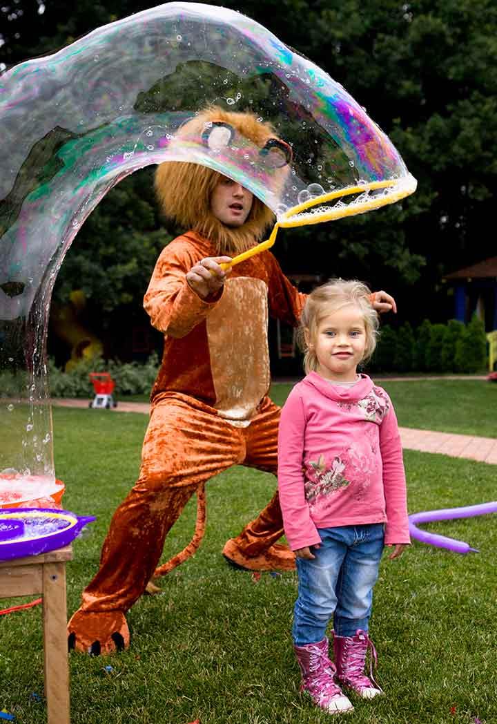 Bubble theme party