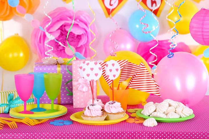 Candy-themed party