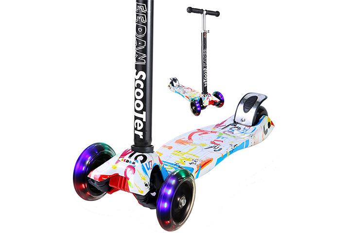 EEDAN Scooter for Kids 3 Wheel T-bar