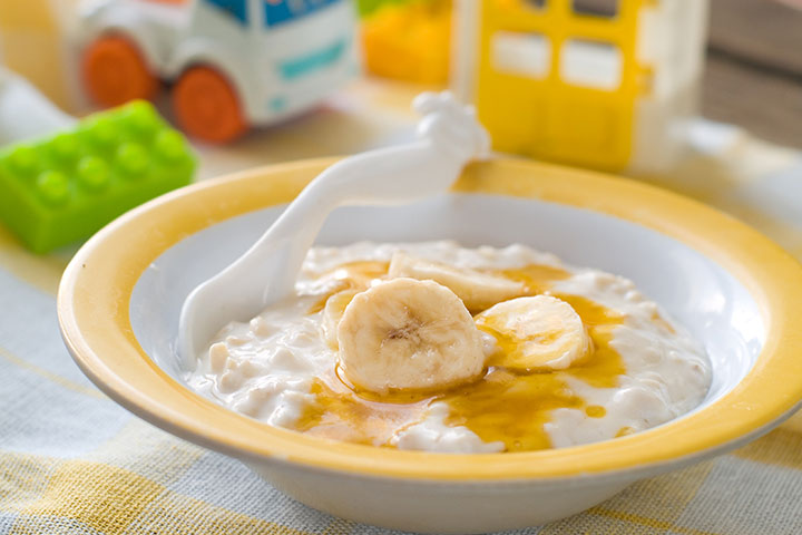 Milk and honey porridge