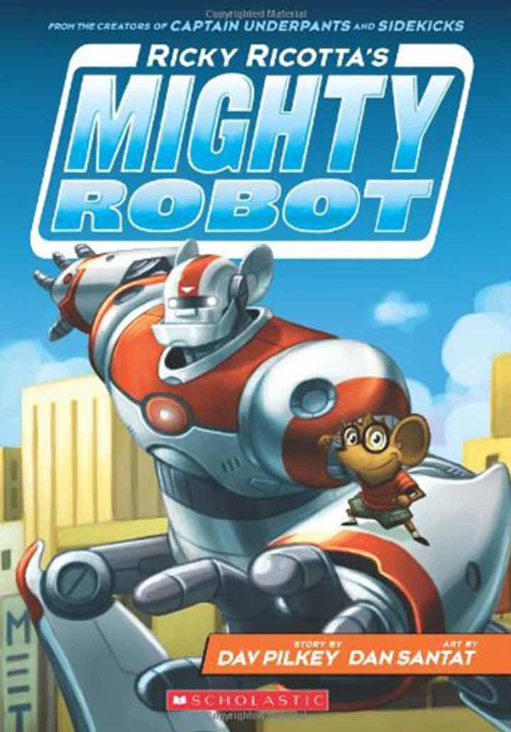 Ricky Ricottas Mighty Robot