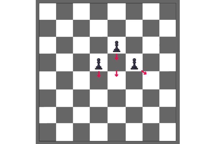 move one square