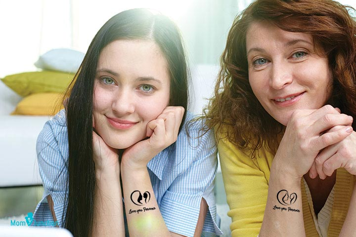 Mother Daughter Symbol Tattoo