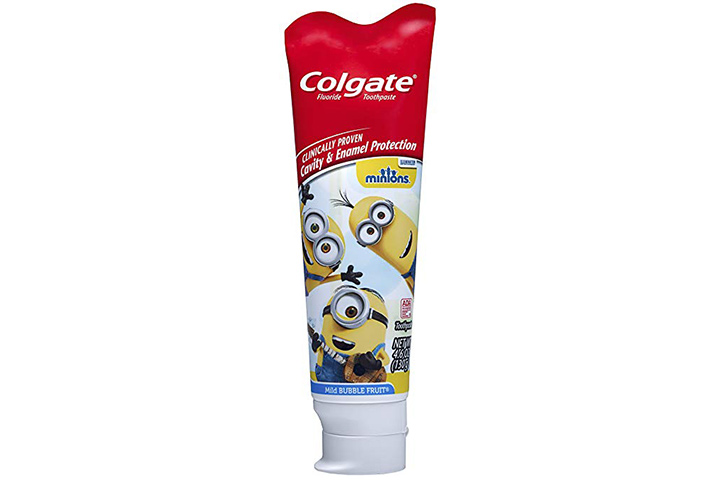 11. Colgate Kids Minions Toothpaste
