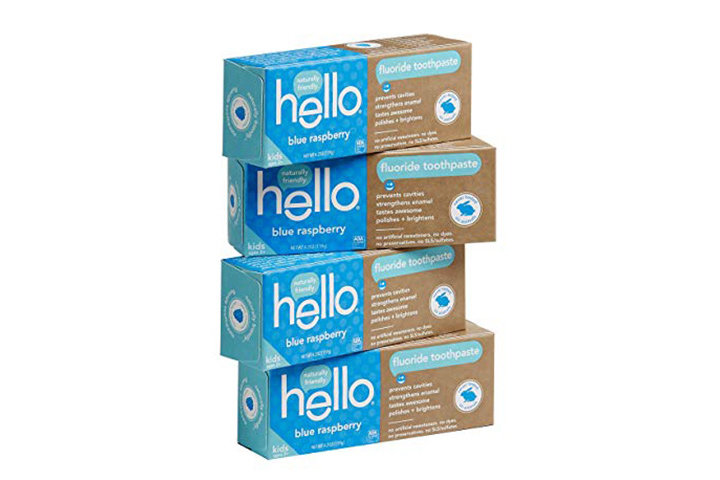 6. Hello Oral Care Toothpaste for Kids