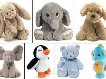 15 Best Stuffed Animals For Babies And Toddlers