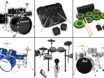 15 Best Drum Sets For Kids To Buy In 2021