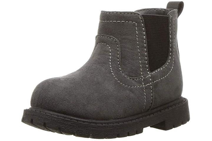 Carter's Kids Boy's Cooper3 Grey Chelsea Boot