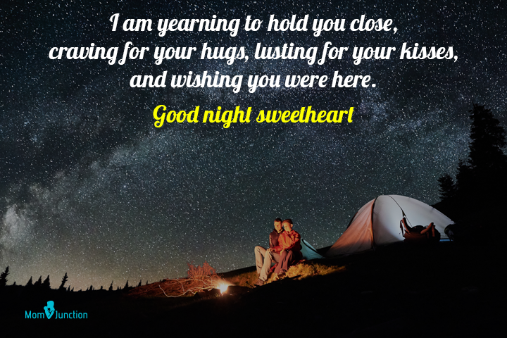 Good night quotes for my husband