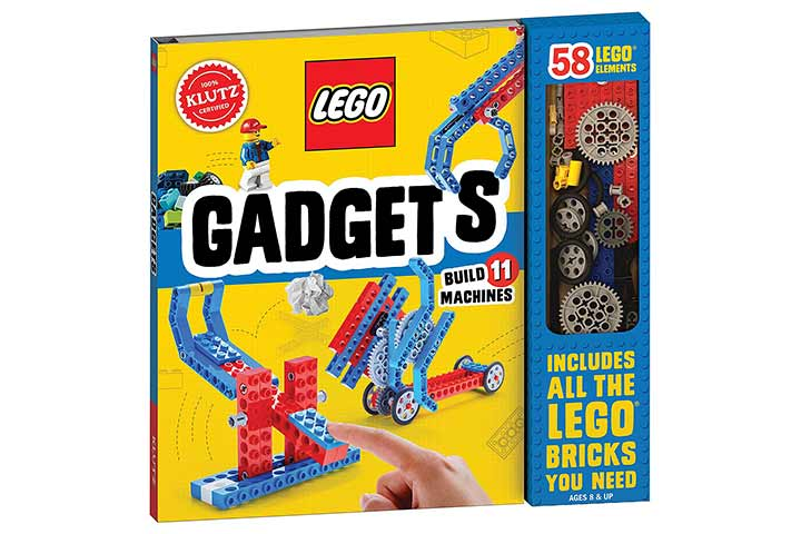 Klutz Lego Gadgets Science And Activity Kit