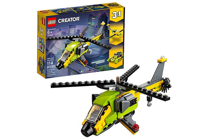 LEGO Creator Three-In-One Helicopter Adventure