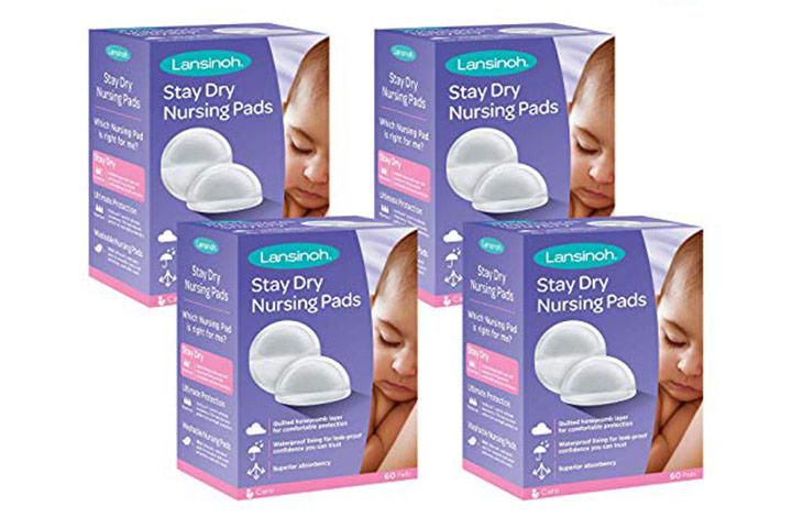Lansinoh Stay Dry Disposable Nursing Pads