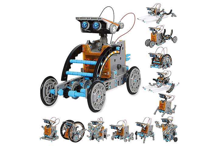 Sillbird STEM 12-in-1 Educational Solar Robot Toys