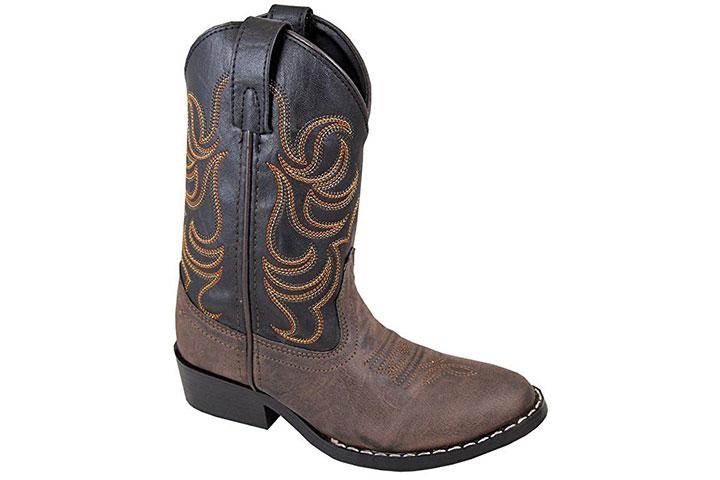 Smoky Mountain Boys' Snake Print Cowboy Boot