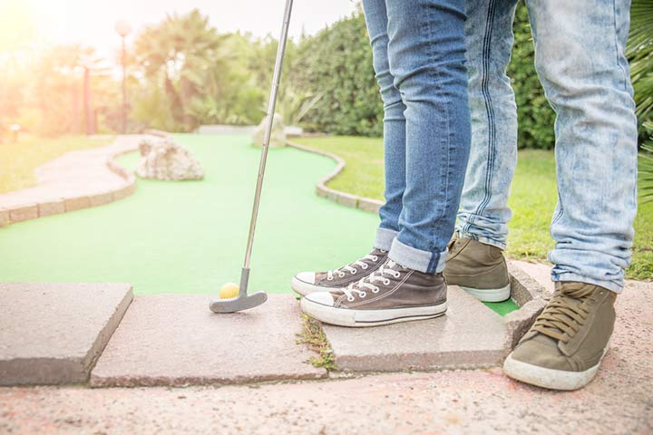 Go to a game of mini-golf