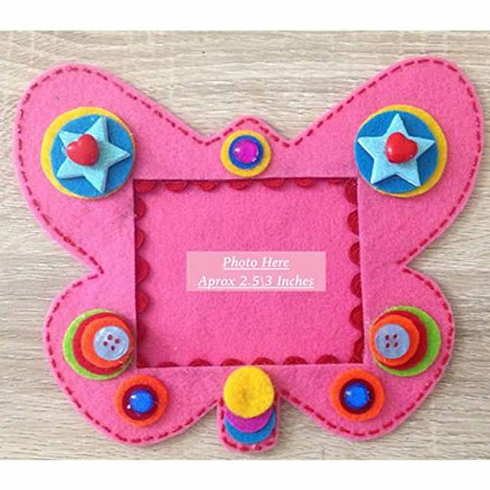Kalacaree Butterfly Design Magnetic Photo Frame
