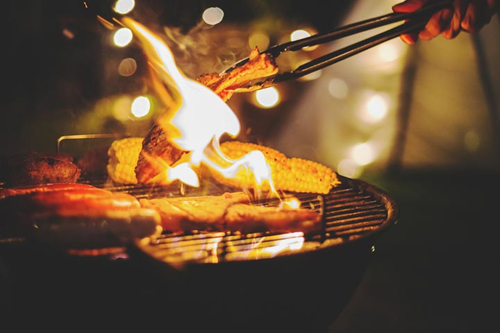 Plan a barbecue night