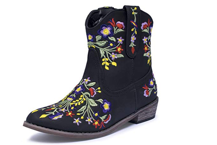 Reece Floral Embroidered Cowboy
