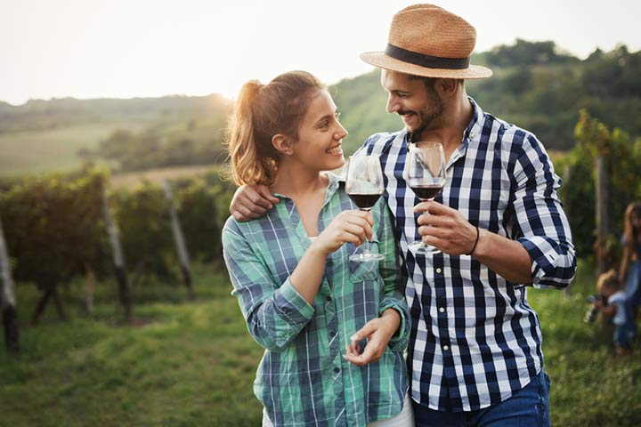Try a wine or cheese tasting event