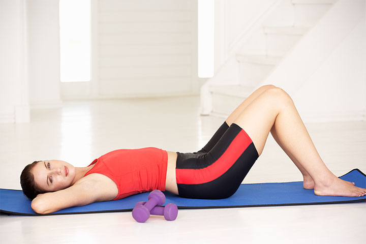 Back and stomach exercises