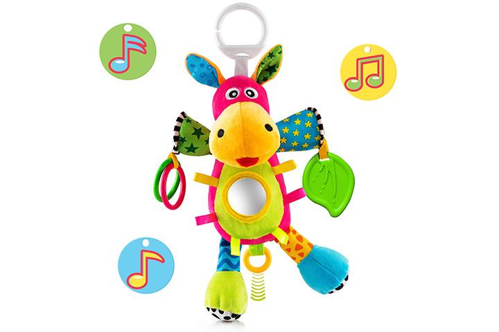 OKIKI Donkey Plush Stuffed Infant Toy
