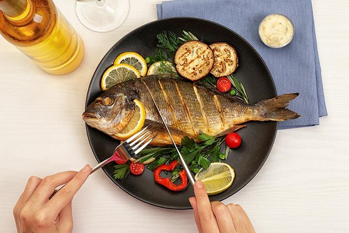 Pregnancy Me Fish Khane Ke Fayde