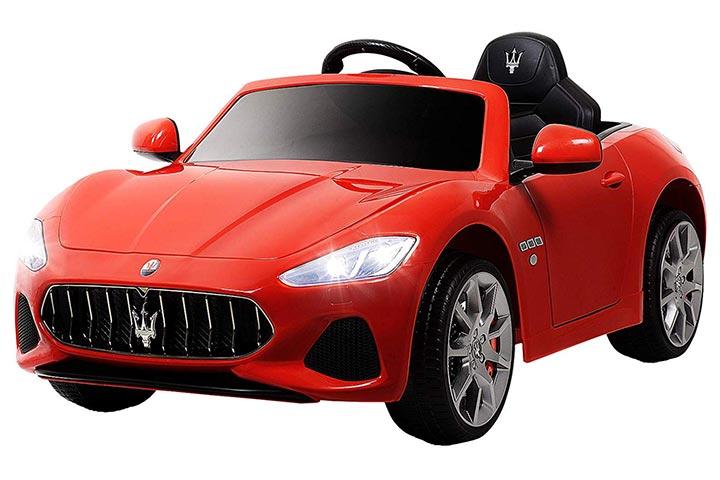 Uenjoy Maserati GranCabrio 12V Electric Kids Ride On Cars