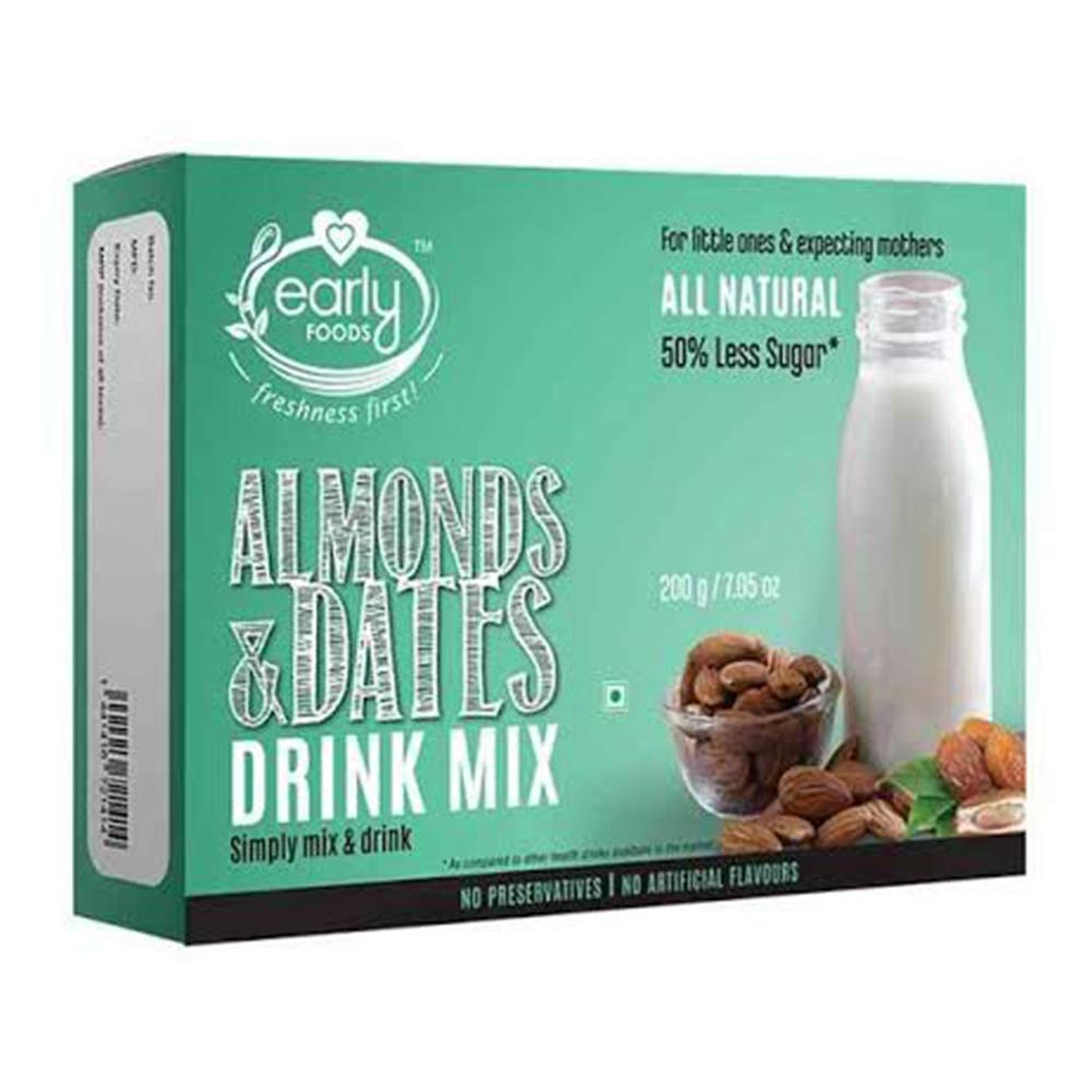 Early Foods Almonds & Dates Drink Mix