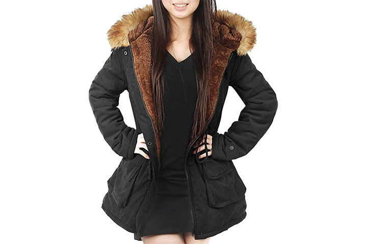 4How Womens Hooded