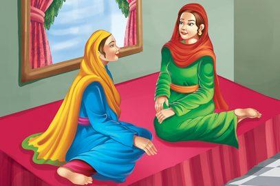 मुल्ला नसरुद्दीन की दो बीवियां   Mulla Nasruddin Ki Do Biwiyan