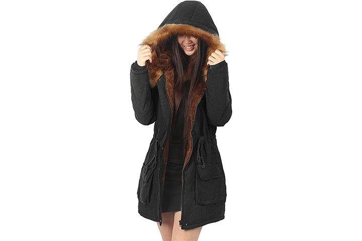 iloveSIA Womens Hooded Warm Coats