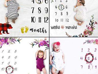 11 Best Baby Milestone Blankets To Buy In 2021