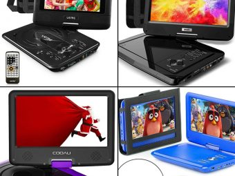 14 Best Portable DVD Player For Kids In 2021