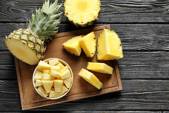 Pineapple For Babies Health Benefits, Risks, And Recipes